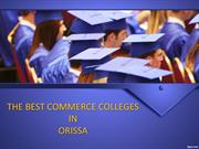 The Best Commerce Colleges In Orissa