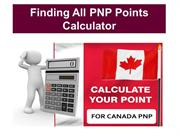 Finding All Canada PNP Points Calculator Online