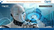 The role of Artificial Intelligence in Quality Assurance
