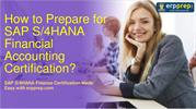 SAP S/4HANA Finance C_TS4FI_1809 CertificAnswers and Study Guide