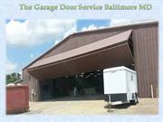 The Garage Door Service Baltimore MD