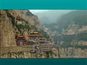 A City Built In The Mountains of China