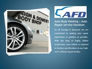 Auto Body Painting | Auto Repair Service Stockton | AFD Body Shop