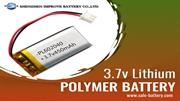 3.7v Lithium polymer battery with long-term