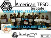 Tesol Certification Programs Florida