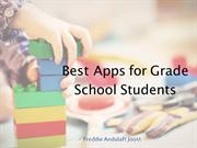 Freddie Andalaft Joost: Best Apps for Kids