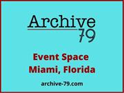Find the Event Space at Miami Florida