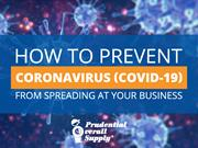 How to Prevent Coronavirus (COVID-19) From Spreading at Your Business