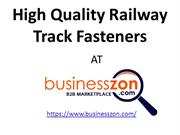Railway Fasteners,Railway Track Fasteners,Railway Spare Parts,Business