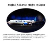 United-Airlines Phone Number