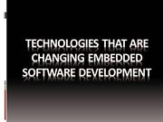 Embedded Embedded Software Development Solutions