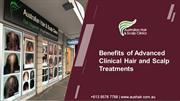 Benefits of Advanced Clinical Hair and Scalp Treatments