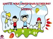 E4.Unit 12 What does your father do.Lesson 1