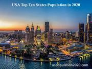 Top 10 Most Populated States in United States
