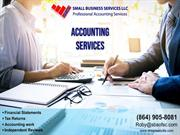 Best Small Business Accounting Services Greenville, SC
