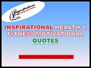Inspiring Health Motivational Quotes
