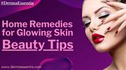 Home Remedies for Glowing Skin - Beauty Tips
