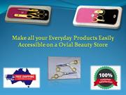 Make all your Everyday Products Easily Accessible on a Ovial Beauty St
