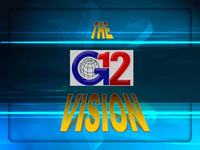 3 The G12 VISION
