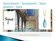 Earrings With Champagne Diamonds - synajewels