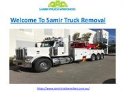 Damaged Truck Removal
