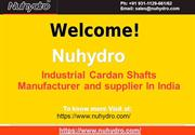 Industrial Cardan Shafts Manufacturer-Nuhydro