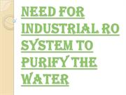Importance of Installing Industrial RO System