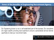 Understand the Benefits Of Engineering Recruitment Agency