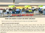 HOW CAN I BOOK A FLIGHT ON SPIRIT AIRLINES