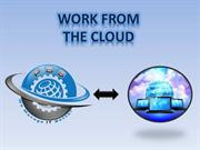 benefits of cloud services for work at home professionals