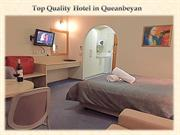 Top Quality Hotel in Queanbeyan