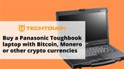 Buy a Panasonic Toughbook laptop with Bitcoin, Monero or other crypto