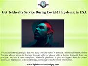 Get Telehealth Service During Covid-19 Epidemic in USA