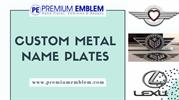 What is The Features of our Metal Die Cast Nameplates?