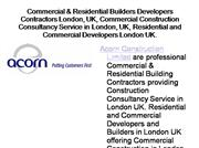 Commercial & Residential Builders London