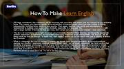 Learn English | Learn English speaking