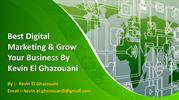 Startup A Digital Marketing Business With Kevin El Ghazouani