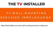 Want TV Wall Mounting Services in Melbourne? | The TV Installer