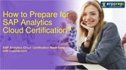 SAP Analytics Cloud Certification Exam Latest Questions Answers