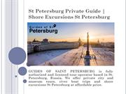 St Petersburg Private Guide | Shore Excursions St Petersburg