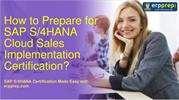 SAP S/4HANA Cloud C_S4CS_2002 Certification Questions Answers