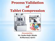 Process Validation of Tablet Compression