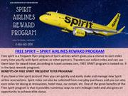 FREE SPIRIT – SPIRIT AIRLINES REWARD PROGRAM