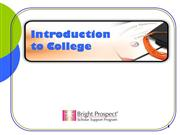 Introduction to College