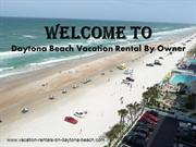 Vacation Rentals in Daytona Beach Shores