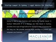 Legal Advice For Startups | Startup Lawyer In Sydney