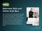 Grab Bars – Durable and Sturdy Adjustable Grab Bar Online