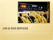 Improve Business Growth With Nivid's LAN & WAN Services