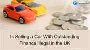 Does Outstanding Finance Check Helps To Buy The Used Car?