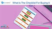 Will Car HPI Check Free Avails You Every Data Of The Car?